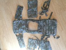 Multicam plate carrier in Fort Leonard Wood, Missouri