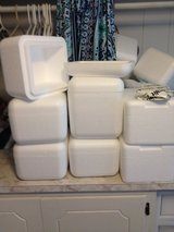 Small styrofoam coolers in Leesville, Louisiana