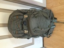 Internal frame ruck in Fort Leonard Wood, Missouri