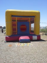 Commercial jumping balloon and blower in Alamogordo, New Mexico