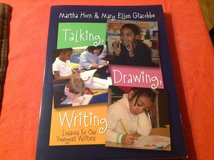 Talking, drawing and writing book in Houston, Texas
