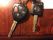 Keys for 2011 Camry & 2005 Altima in DeRidder, Louisiana