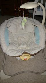 Fisher Price Little Lamb vibrating and musical infant seat in DeKalb, Illinois