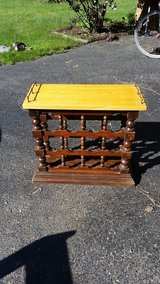 12-bottle wine rack and serving/ end table. in Naperville, Illinois
