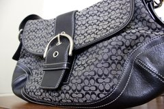 Black Coach Purse in Okinawa, Japan