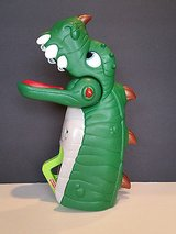 Fisher Price Imaginext Spike Jaws The Ultra Dinosaur Hand Puppet Roars Lights Up in Houston, Texas