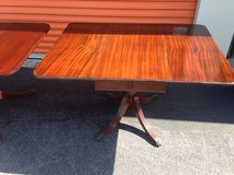 Mahogany Duncan Phyfe Drop Leave Tables in Cherry Point, North Carolina