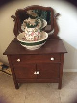 Antique Wash Stand in Kingwood, Texas