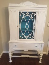 Chalk painted cabinet in Columbia, South Carolina