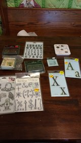 Scrapbook cling stamps in League City, Texas