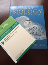 Campbell Biology Concepts & Connections 8th edition with Student Access Code in Fort Lewis, Washington