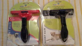 Furminator brand dog and cat brushes in Conroe, Texas