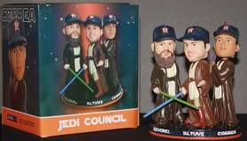**** NEW ASTROS STAR WARS JEDI COUNCIL BOBBLEHEAD - CALL NOW **** in Pasadena, Texas