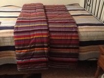 Flannel comforter -queen/King size in Fort Campbell, Kentucky