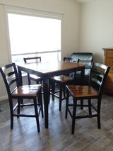 Counter Height Table and 4 chairs in Nellis AFB, Nevada