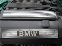Engine from 1997 BMW 520, in Ramstein, Germany