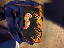 Hot wheels carrier bag with a few small rips in Los Angeles, California