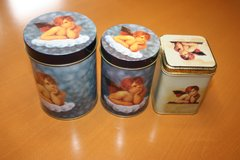 Cute little Angel Canisters in Ramstein, Germany