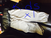 Kids baseball pants size xl in Los Angeles, California