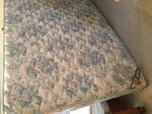 Queen Mattress and Box Spring in Naperville, Illinois