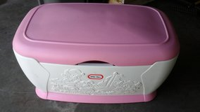 Little Tykes Pink toy chest, huge! in Sandwich, Illinois