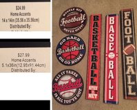 sports wall decor in Baytown, Texas