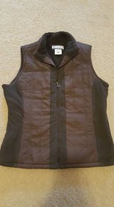 Columbia Fleece Vest womens Sz Small in Fort Lewis, Washington