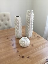 Decorative vase and candle holder (3 piece set) in Miramar, California
