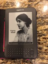 Kindle with case in Nellis AFB, Nevada