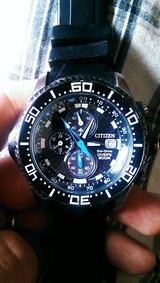 Citizen eco drive dive 200m watch in Okinawa, Japan