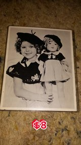 8x10 Photo of Shirley Temple and doll in Macon, Georgia
