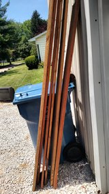 6 hardwood rough sawn kiln dried boards in Belleville, Illinois