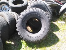 I have two 36x16.50x16.5 dick cepeck tires in Camp Lejeune, North Carolina