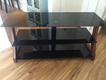 Glass TV stand in Fort Irwin, California
