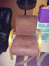 Brown Suede Chair in Lockport, Illinois