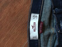 Hollister blue jeans in DeRidder, Louisiana