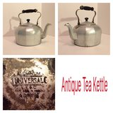 Antique tea kettle in Joliet, Illinois