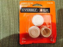 "Everrbilt Rubber Leg Tips - 7/8""/22 mm in Glendale Heights, Illinois"