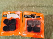 "Everbilt Rubber Leg Tips -7/8"" / 22 mm in Glendale Heights, Illinois"