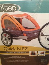 InSTEP Quick N EZ Double Bicycle Trailer in Wiesbaden, GE