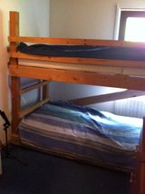 Solid Bunk Bed-STILL AVAIL in Ramstein, Germany