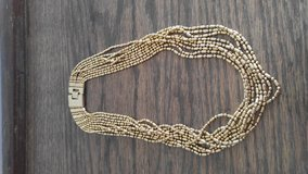 Multi-strand Gold Necklace in Batavia, Illinois
