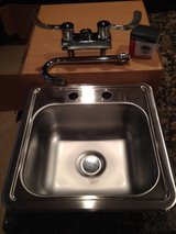 Elkay Stainless Steel Bar Sink with Faucet in Conroe, Texas