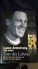 Lance Armstrong (new) in Ramstein, Germany