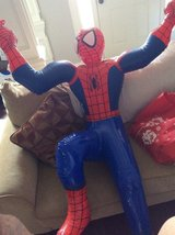 1994 Marvel Inflate-O-Spidey Inflatable spiderman! Life size in Perry, Georgia