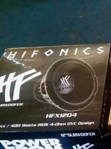 12 inch hifonics subwoofer in Beaufort, South Carolina