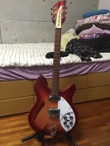 Guitar Rickenbacker. Electric in Okinawa, Japan