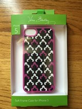NEW, Vera Bradley Soft Frame Case for IPhone 5, 5s in Lockport, Illinois