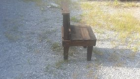 Reclaimed rustic chair in Hopkinsville, Kentucky
