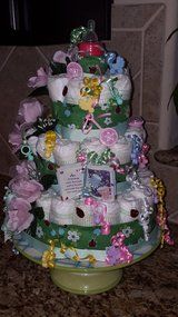 Three Tiered Diaper Cake- reduced! in Houston, Texas